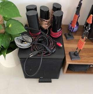Kef 5.1 surround sound