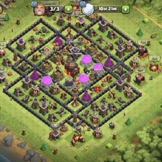 Clash Of Clans Account