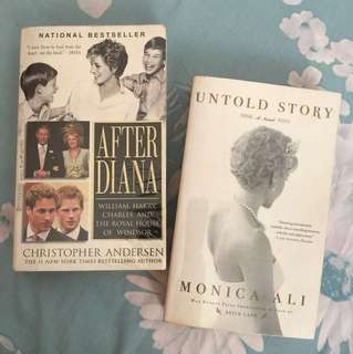 Autobiography books about Princess Diana