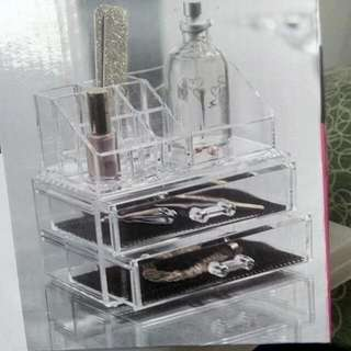 acrylic make up organizer