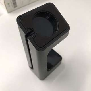 (全新)Stand for Apple Watch 膠 座 黑色 一個