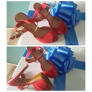 Red Heels, Size 35