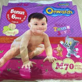 Onwards Diapers size M
