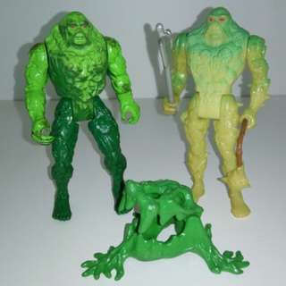 Swampthing Swamp Thing Vintage Action Figure 80s 90s toys collectibles Hasbro Mattel Cartoon