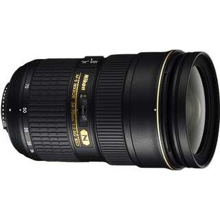 BN Nikon AF-S NIKKOR 24-70mm f/2.8E ED Lens