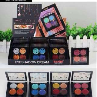 Eyeshadow cream glitter kisbeauty