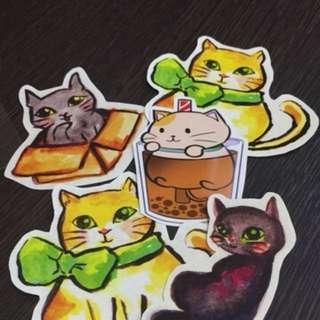 Cat Stickers (whole set)