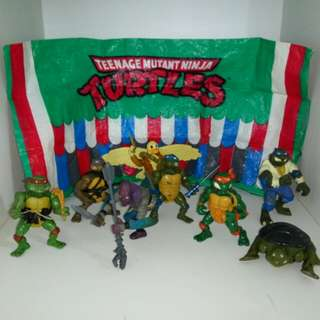 TMNT Teenage Mutant Ninja Turtles Danger Duck Vintage Action Figure 80s 90s toys collectibles Hasbro Mattel Cartoon