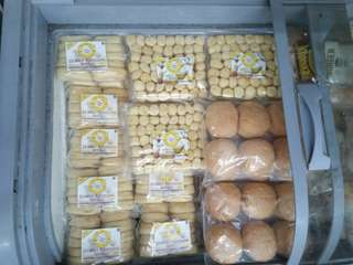 Stock donat kentang