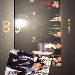 Infinite top seed 全團pb cd 成烈or聖圭小卡