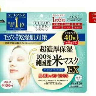 PO Jepang Kose Sheet Mask
