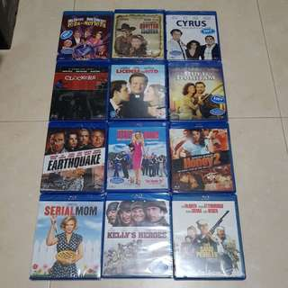 Assorted bluray for sale | New and Sealed