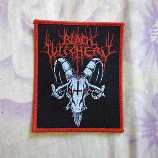 black witchery patch