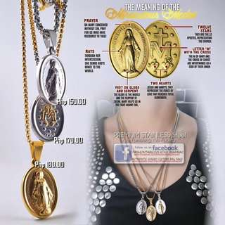 Miraculous Medal - Immaculate Conception Necklace
