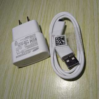 samsung original white charger