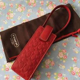 Authentic Coach antique handphone pouch