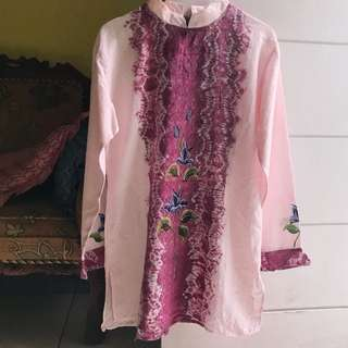 Blouse Tunik Flower