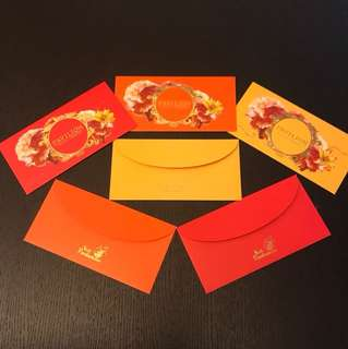 2018 Pavilion CNY Ang Pow Packets/ CNY red packets / angpao