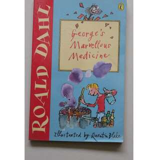 Children's book  ( George's Marvellous Medicine)