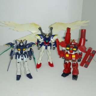 Gundam Wing Sandrock Heavy arms  Vintage Action Figure 80s 90s toys collectibles Hasbro Bandai Mattel Cartoon