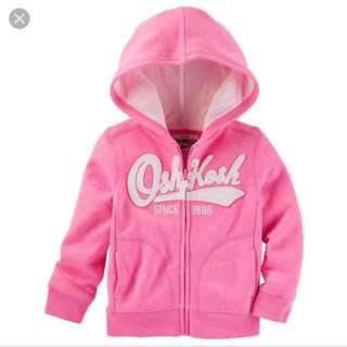 (Free Mail) Osh Kosh Bgosh Fleece Jacket 18m