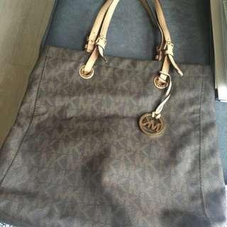 MK Monogram Tote Bag