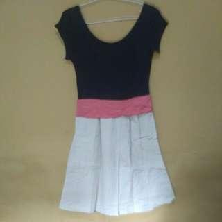 Triple Coloured Dress