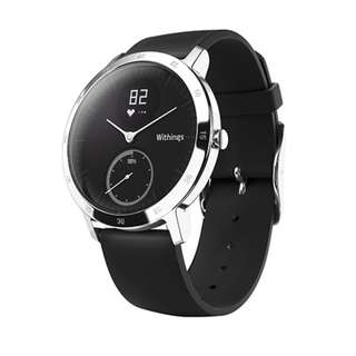 Withings HR Steel Smart Watch (Almost New)