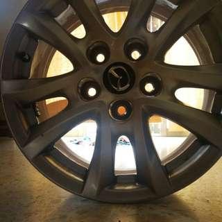16'inch Mazda 3 skyactiv stock rims