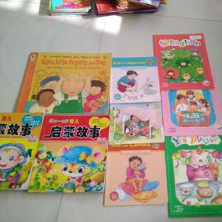 Children's Story Books 9 books for $6 2-4 yrs old.
