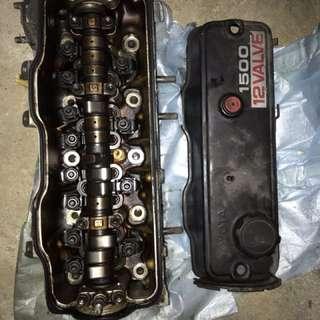 head cylinder 4A toyota