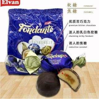 🚚 土耳其巧克力(牛奶夾心/焦糖夾心)