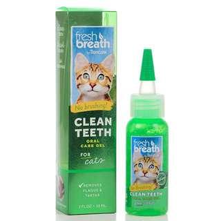 Tropiclean Fresh & Breath Clean Gel Cat - $16.00