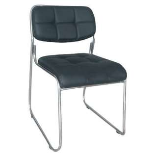 leather visitors chair - office furniture - office chair -