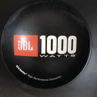 Used Brand Japan JBL 1000 Watt Subwoofer