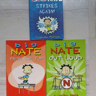 Big Nate Deal - $10 for 3 books!