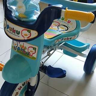 Brand new puku tricycle