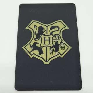 Harry Potter Hogwarts crest ezlink card sticker