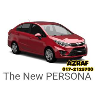 Proton Persona, March Discount RM1000
