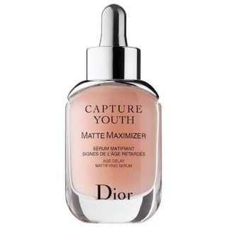 BNIB Dior Capture Youth Matte Maximizer Age-Delay Mattifying Serum