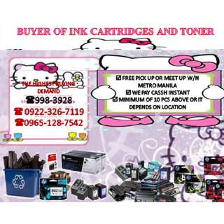 Highest buying demand to your Empty ink cartridges/toner Brand new expired overstock
