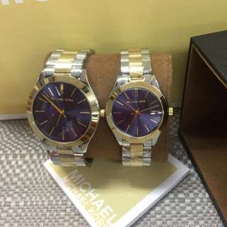 Mk Runway Couple Watch