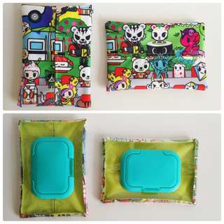 Jujube sushi cars two ways tissue pouches
