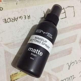 BYS Matte Setting Spray