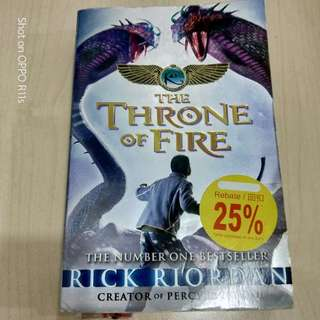 Throne of fire by Percy and Jackson