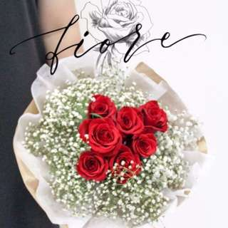 [SOLD OUT] Valentines Day Handmade Flower Bouquet Preorder