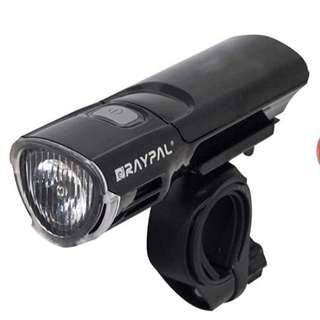 Bike Accessories: Raypal 4 Modes Bike 5 LED Head Lights & Tail light