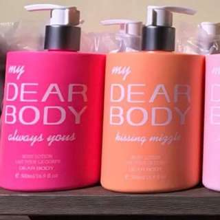 Dear Body Lotion 500ml from London