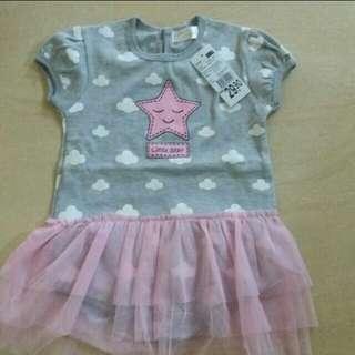 Baby Girl Tutu Romper  (12-18months)