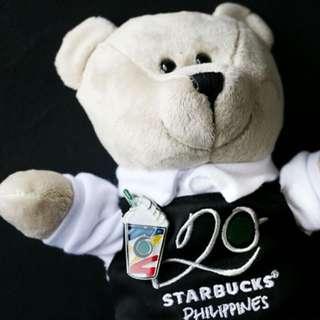 Starbucks 20th Anniversary Bearista